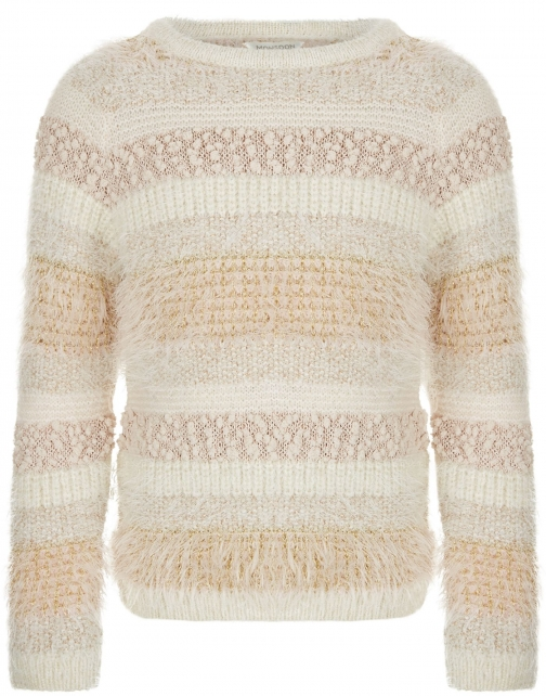 Monsoon Girls Teresa Fluffy Jumper