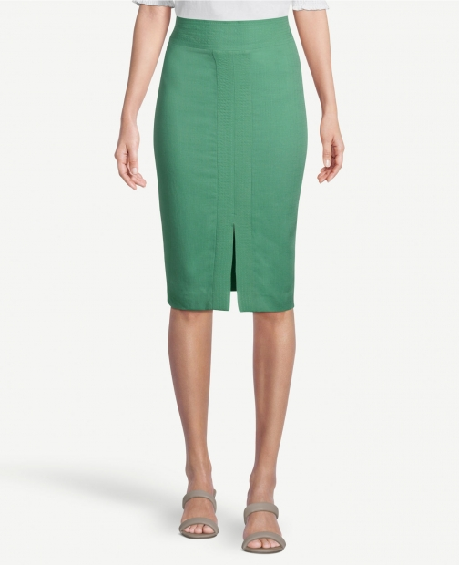 Ann Taylor Factory Stitched Pencil Skirt