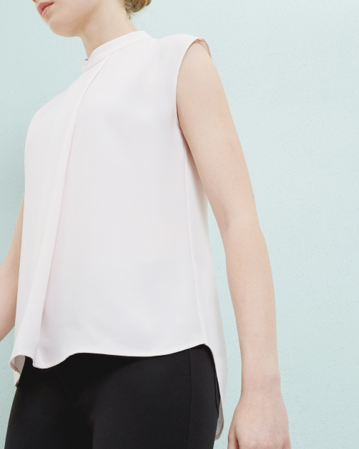 Ted Baker Long Line Layered Top Shirt