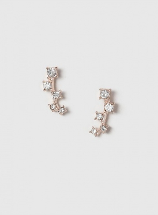 Dorothy Perkins Rose Gold Look Mini Earcuffs Jewellery