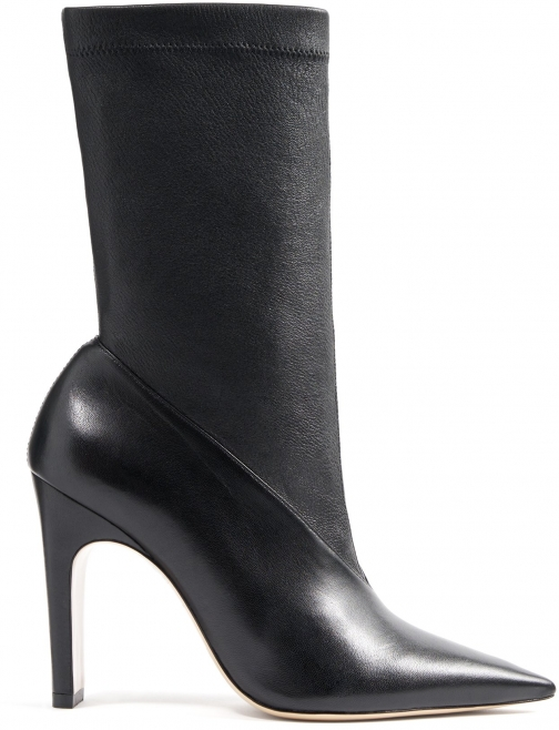 Schutz Shoes Carissa - 5 Black Leather Boot