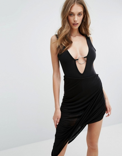 Missguided Slinky Detail Body Ring
