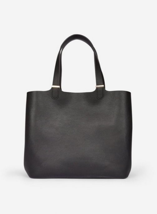 Pieces Black 'Kopa' Shopper Bag