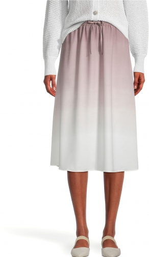 Ann Taylor Factory Ombre Pull On Midi Skirt