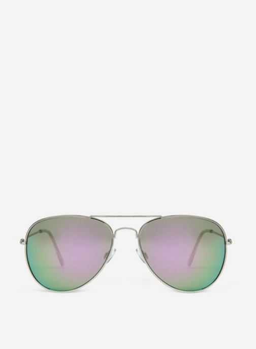 Dorothy Perkins Silver Sunglasses