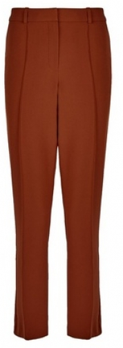 Dorothy Perkins Tobacco Straight Leg Trousers Trouser