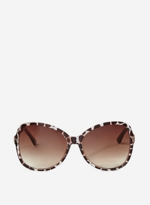 Dorothy Perkins Leopard Print Oversized Sunglasses