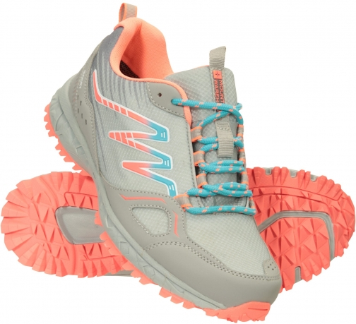 Mountain Warehouse Lakeside Trail Womens Waterproof Approach - Grey Shoes