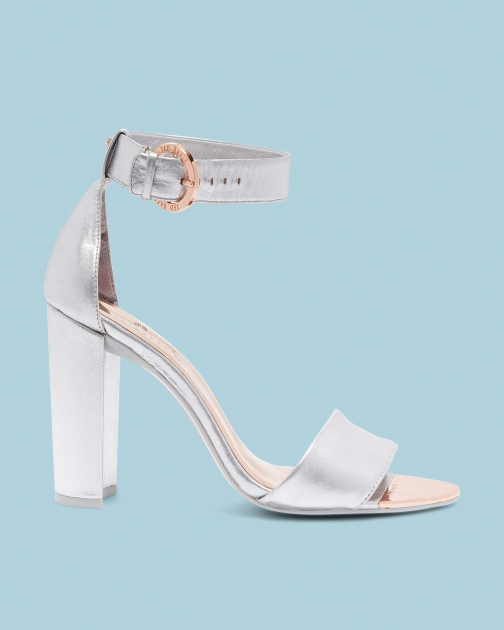 Ted Baker Double Strap Leather Sandals
