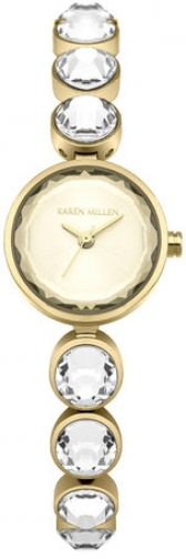 Karen Millen CRYSTAL BRACELET Watch