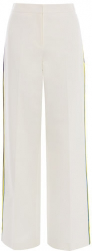 Karen Millen White Wide-leg Trousers Wide Leg Trouser