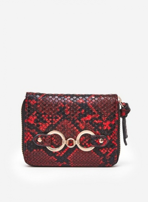 Dorothy Perkins Red Snake Design Mini Purse