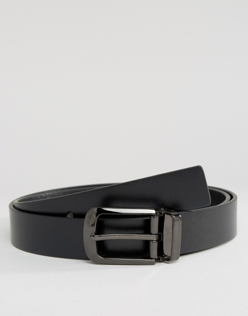 Asos Smith And Canova Smart Leather Belt