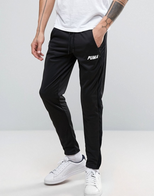 Puma Joggers With Velvet Trim Tapered Trouser