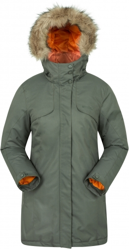 Mountain Warehouse Inferno Womens Jacket - Green Parka