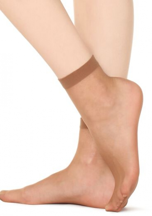 Calzedonia 8 Denier Ultra Sheer Woman Nude Size TU Sock