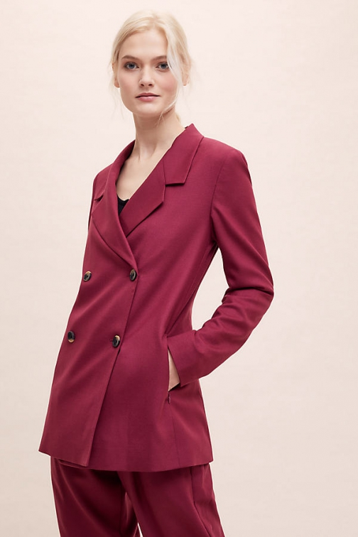 Selected Femme Margot Double-Breasted Blazer