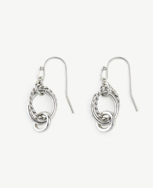 Ann Taylor Roped Drop Earring
