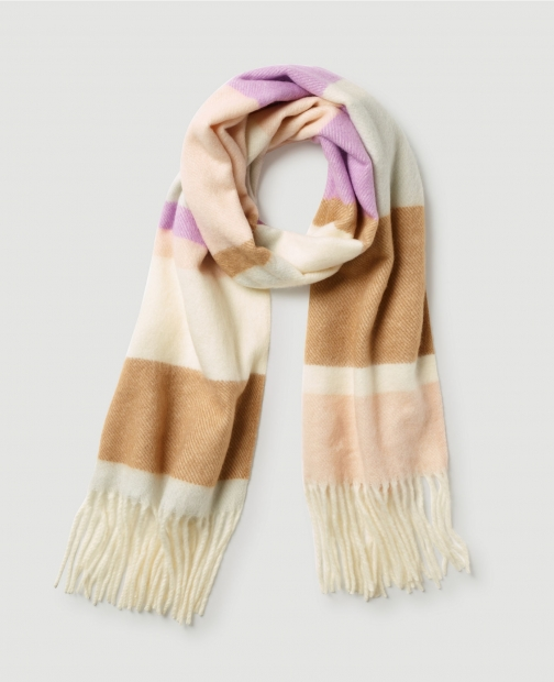 Ann Taylor Factory Colorblocked Scarf