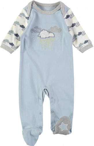House Of Fraser Rockin' Baby Boys Cloud Onesie