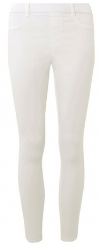 Dorothy Perkins White 'Eden' Super Soft Ankle Grazer Jegging