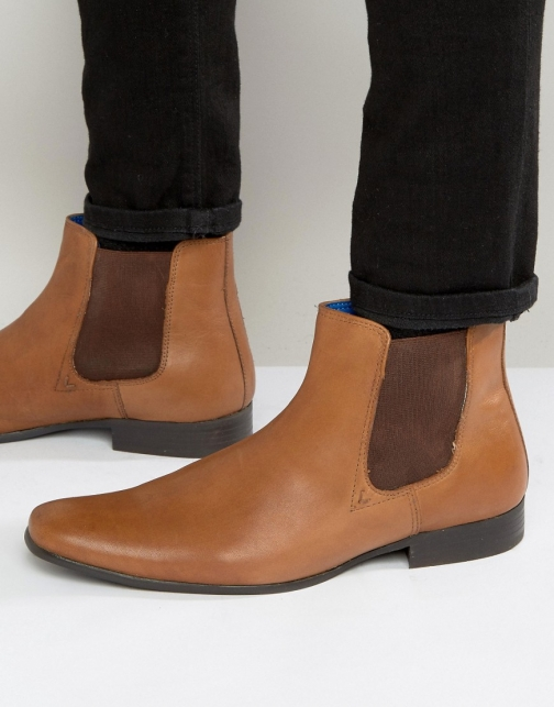 Red Tape Chelsea Leather Boot