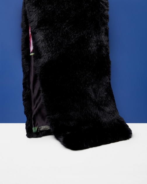 Ted Baker Faux Fur Long Scarf
