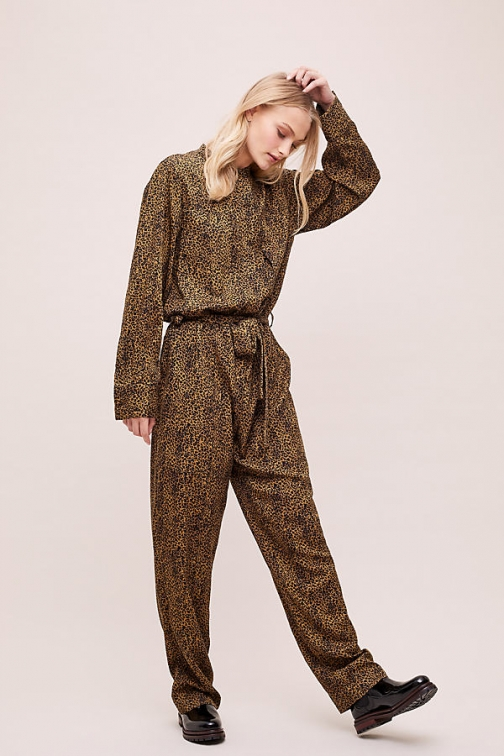Essentiel Antwerp Animal-Printed Jumpsuit
