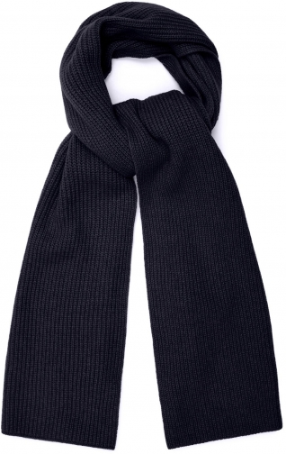 Reiss Emmerson - Cashmere Navy, Womens Scarf