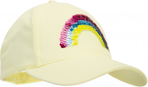 Mountain Warehouse Rainbow Kids Baseball - Yellow Cap