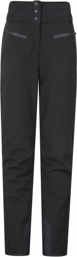 Mountain Warehouse Avalanche Womens High-Waisted Slim Fit Ski Pants - Black Trouser