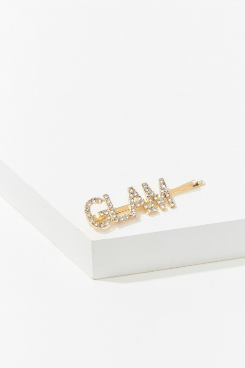 Forever21 Forever 21 Glam Graphic Bobby , Gold Pin
