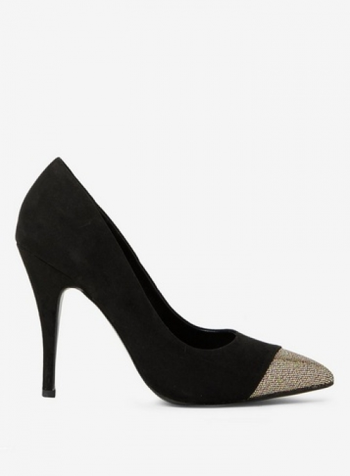 Dorothy Perkins Womens Black 'Gravity' Court - Black, Black Shoes