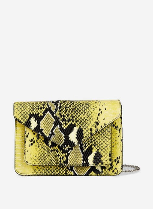 Pieces Lemon 'Bina' Cross Body Bag Crossbody Bag
