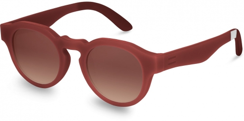 Toms Traveler By TOMS Bryton Matte Spice Bronze Double Gradient Lens With Brown Gradient Lens Sunglasses