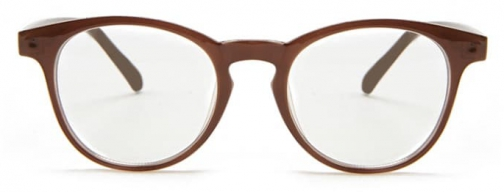 Forever21 Forever 21 Clear Plastic Readers Brown/clear Eyewear