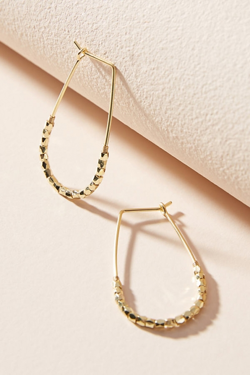Anthropologie Yara Hoop Earring