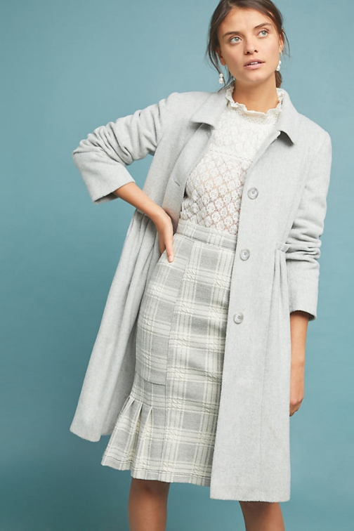 Anthropologie Helene Berman Riding Coat Jacket