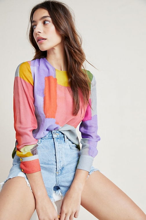 Conditions Apply Pastel Top Pullover