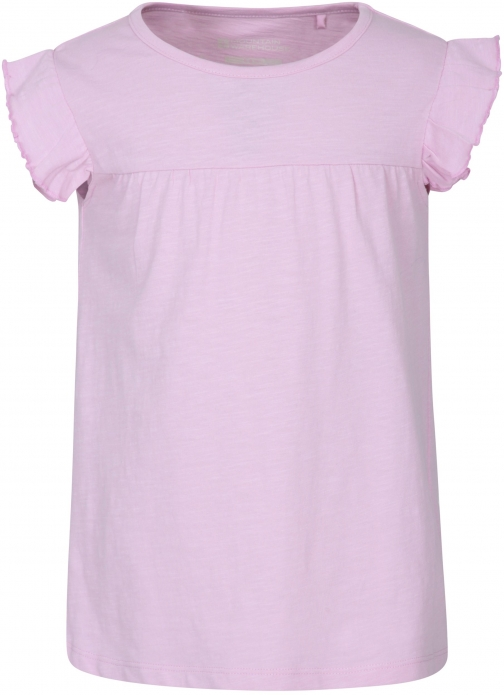 Mountain Warehouse Frill Kids Top - Purple T-Shirt