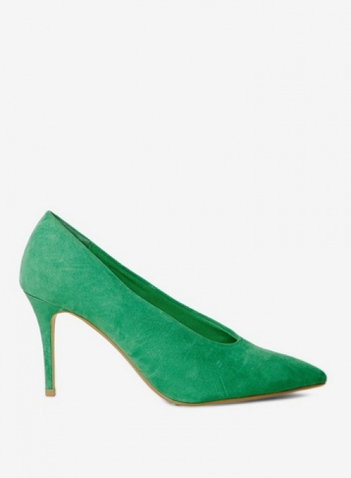 Dorothy Perkins Womens Green 'Gatsby' Court - Green, Green Shoes