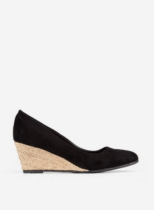 Dorothy Perkins Black 'Dreamy' Wedges Wedge Sandal