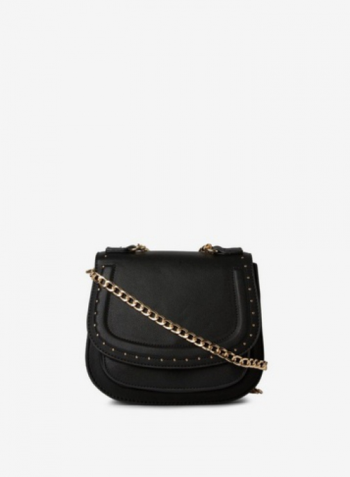 Pieces Black 'Belle' Cross Body Bag Crossbody Bag