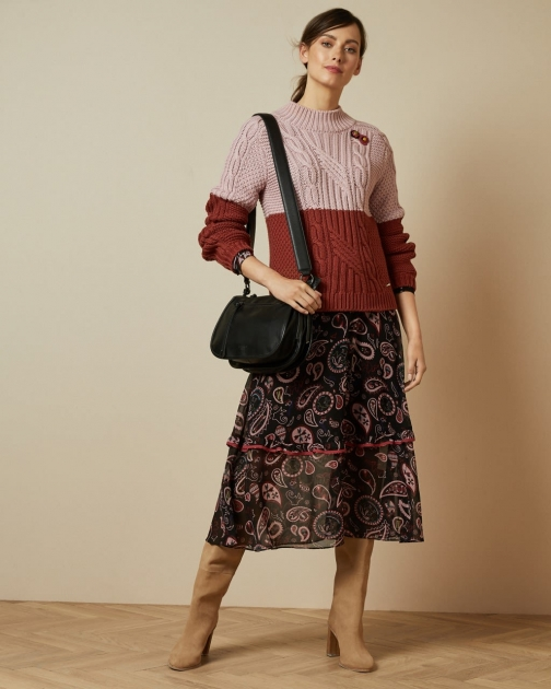 Ted Baker Chunky Cable Knit Jumper