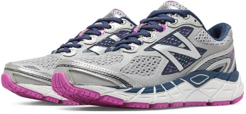 New Balance 840v3 Women's Neutral Cushioned - Grey/Blue/Pink (W840WP3) Shoes