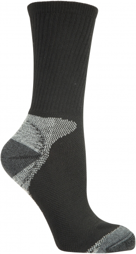 Mountain Warehouse Mens Sports - Black Sock