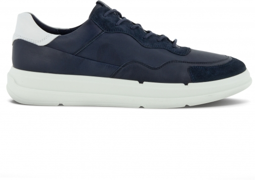 Ecco Soft X Mens Shoe Sneakers Size 5 Navy Trainer