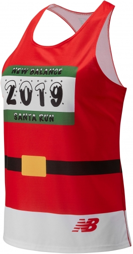 New Balance 90398 Women's Santa Singlet - Red (WT90398BTRE) Suit