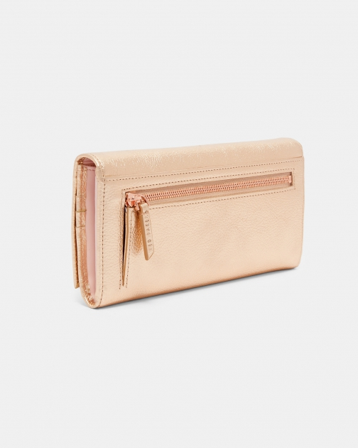 Ted Baker Statement Letters Leather Matinee Purse