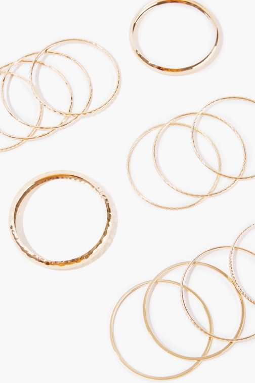 Forever21 Forever 21 Bangle Set , Gold Bracelet